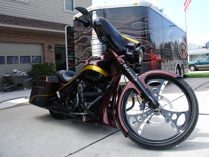 SOLD!!! 2009 Ice Cycle Radical Street Glide For Sale   'Make an Offer'